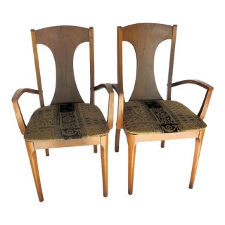 Hans Werner Danish Side Chairs - a Pair For Sale