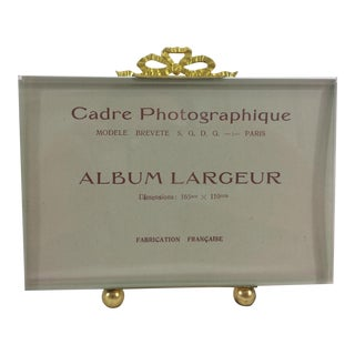 19th C. French Photo Frame