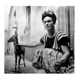 """Frida With Granizo"" Black & White Photograph"