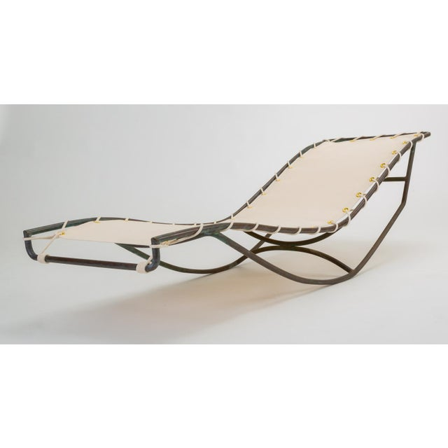 1960s Pair of Waikiki Rocking Lounge Chairs by Walter Lamb for Brown Jordan For Sale - Image 5 of 13