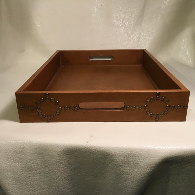 Studded Serving Tray For Sale In Sacramento - Image 6 of 8