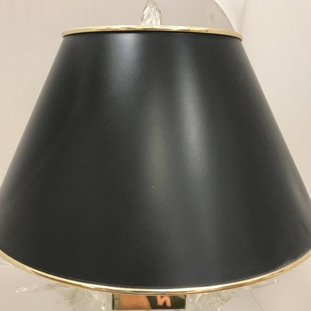 Cut Glass Deer Head Table Lamp - Image 11 of 11