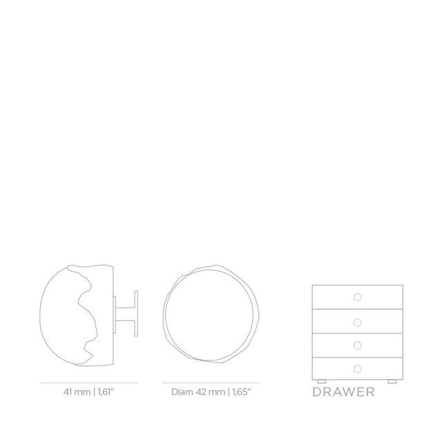 Tiffany Quartz Le4003 Drawer Handle From Covet Paris For Sale - Image 4 of 6