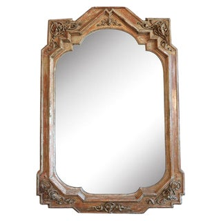 19th Century Large Italian Neogothic Mirror For Sale