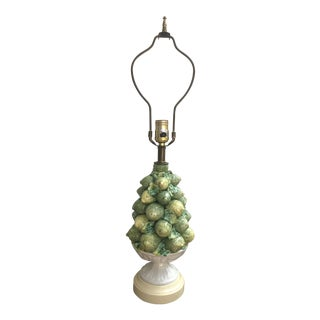 Italian Lemons and Limes Topiary Lamp For Sale