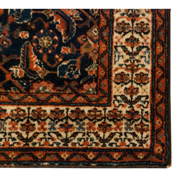 """Early 20th Century Persian Malayer Runner - 33"""" x 120"""" - Image 5 of 5"""
