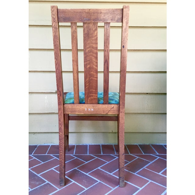 Mission Dining Chairs - A Pair - Image 5 of 10