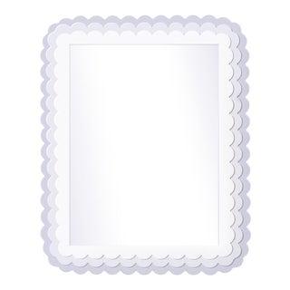 Fleur Home x Chairish Carnival Krewe Rectangle Mirror in Spring Iris, 30x40 For Sale