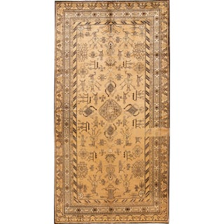 Early 20th Century Antique Khotan Rug 7 X 13 For Sale