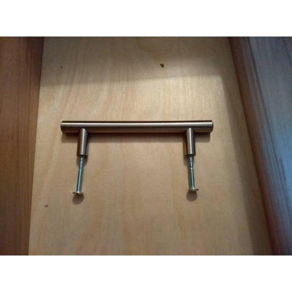 Solid Wood Grey Bathroom Vanity - Image 5 of 6