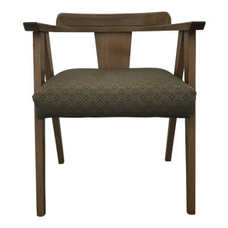 Mid Century Modern Corner Chair For Sale