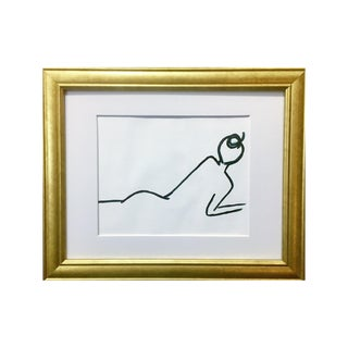 Laying Female II Mien + Movement Series by Lindsey Weicht For Sale