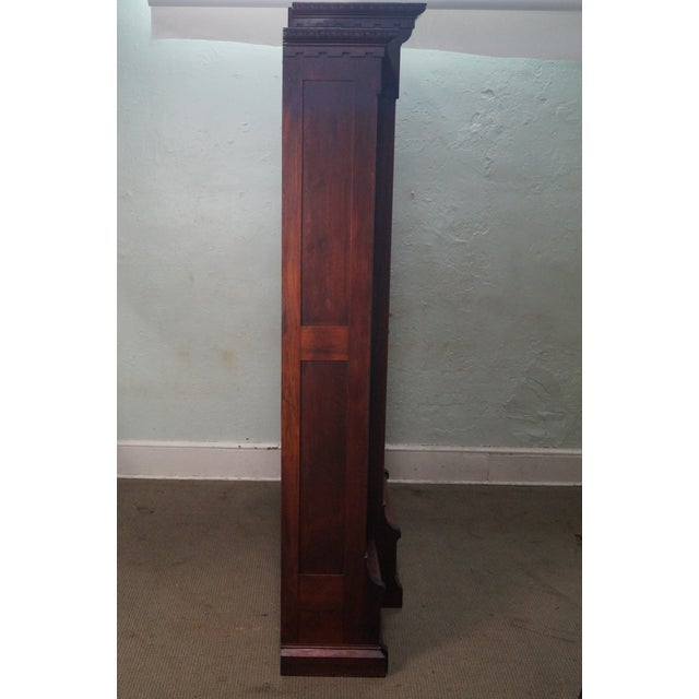 Traditional Antique Victorian Walnut Bookcase For Sale - Image 3 of 10