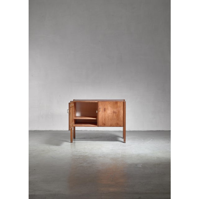 Mid-Century Modern Pine Finn Form Sideboard, Finland, 1950s For Sale - Image 3 of 6