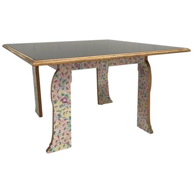 "Robert Venturi ""Cabriole Leg"" Table for Knoll For Sale"