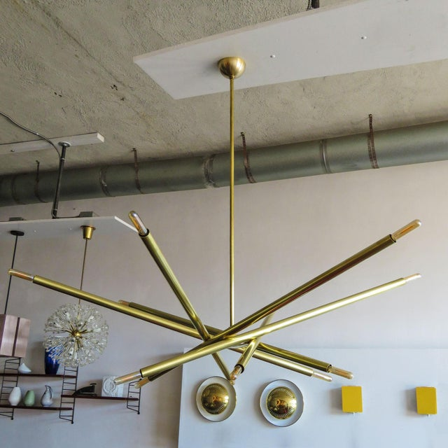 Contemporary Gallery L7 Spiral As-6 Chandelier For Sale - Image 3 of 11