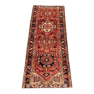 "1960s Persian Karajeh Wool Runner -3'8""x9'2"""