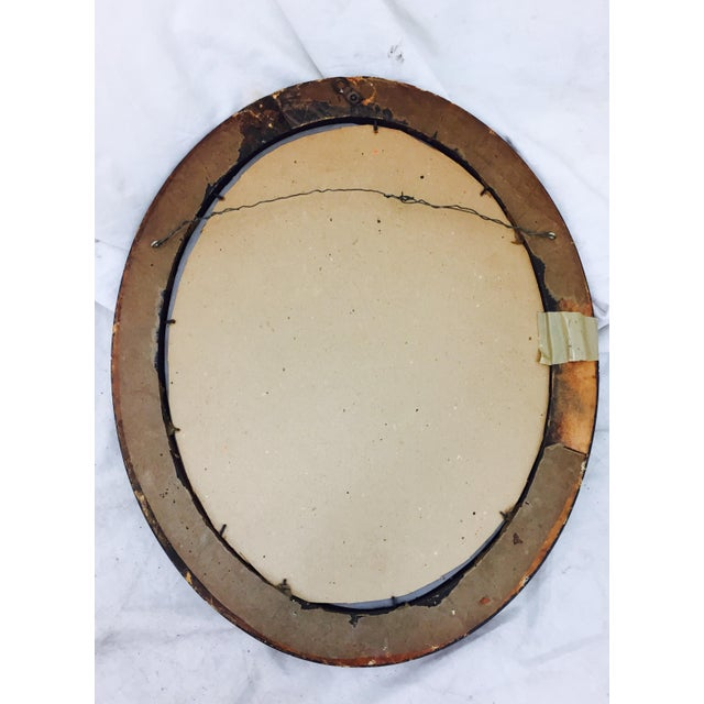 Antique Wooden Mirror - Image 8 of 8