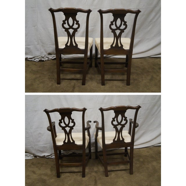 Kittinger Mahogany Dining Chairs - Set of 8 - Image 4 of 10