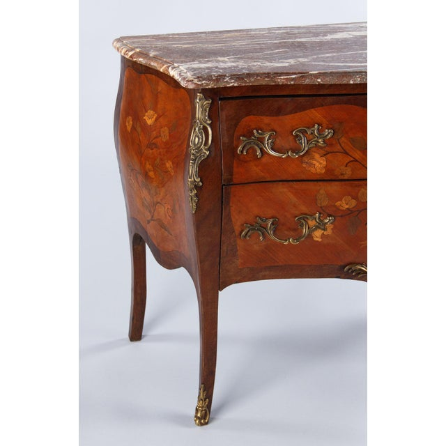 French Louis XV Style Two-Drawer Commode - Image 8 of 10