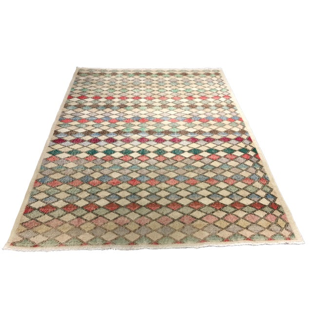 "Zeki Muran Turkish Rug - 5'2"" x 7' - Image 1 of 7"