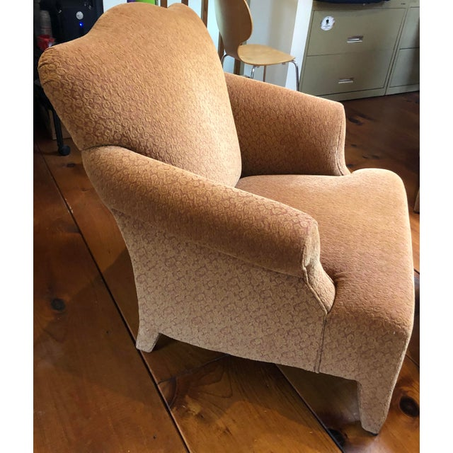 1990s Vintage John Hutton Style Club Chairs Pair For Sale - Image 10 of 13