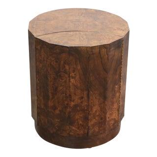 Edward Wormley for Dunbar #6302c Pedestal End Table Bar Cabinet Mid Century Modern For Sale