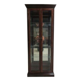Vintage Pulaski Mahogany China Cabinet
