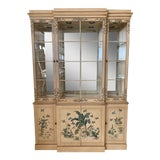 Image of Hand Painted China Cabinet by Drexel For Sale
