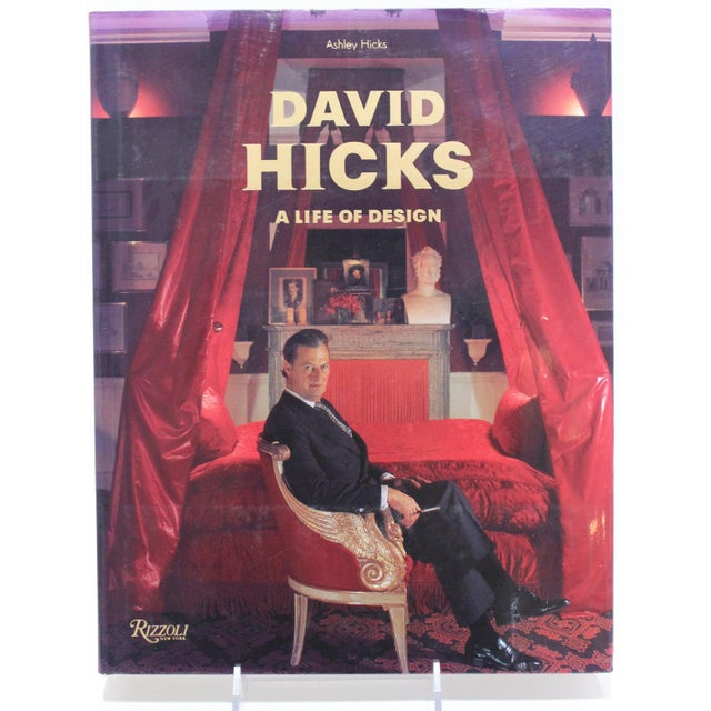 """""""David Hicks a Life of Design"""" Coffee Table Book For Sale - Image 10 of 10"""