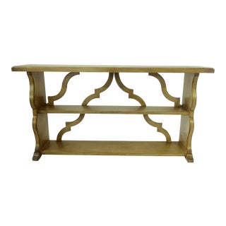 Drexel Heritage Modern Console Table