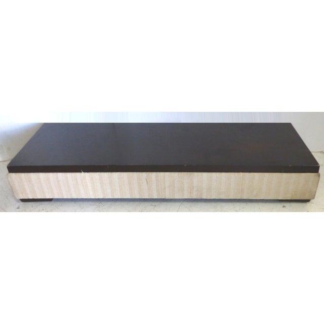 Modern Long Low Bench - Image 2 of 6