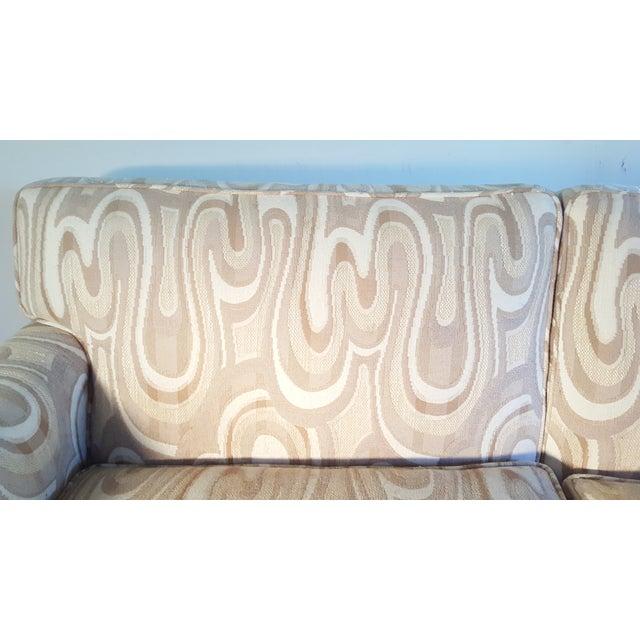 1940s Maison Jansen-Style Neutral Sofa - Image 6 of 7