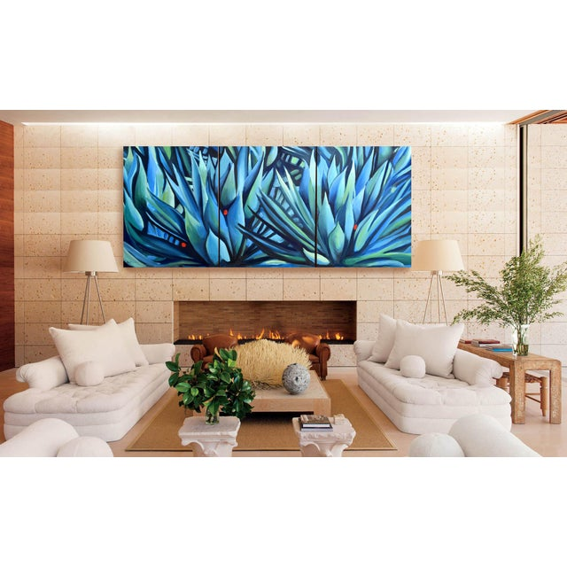 Impressionism 'Song of Dark Leaves' Oil Painting (Featured) For Sale - Image 3 of 9