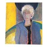 Image of Original Jane Gilday Contemporary Portrait Painting 2000 For Sale