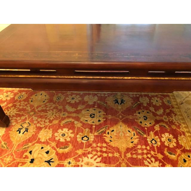Late 20th Century Asian Style Coffee Table For Sale - Image 5 of 7