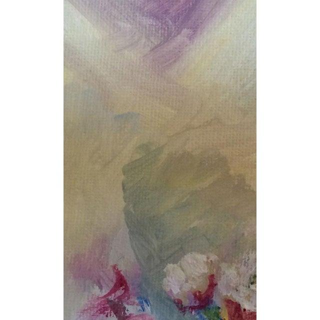 Nancy T. Van Ness Bird on Branch Oil Painting Print - Image 8 of 10