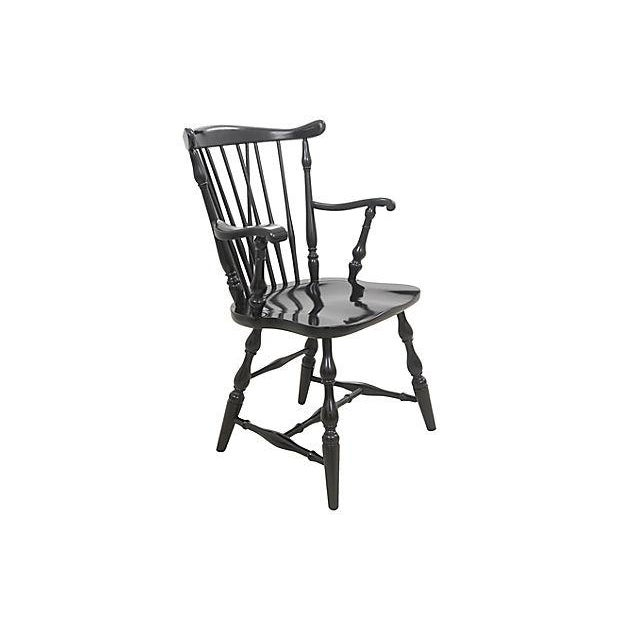 Pennsylvania House Windsor Style Dining Chairs - Set of 6 - Image 3 of 6