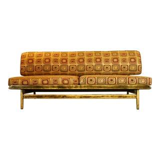 Mid-Century Modern Slipper Sofa For Sale