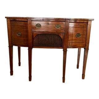 Circa 1840 English Mahogany Sheraton Sideboard