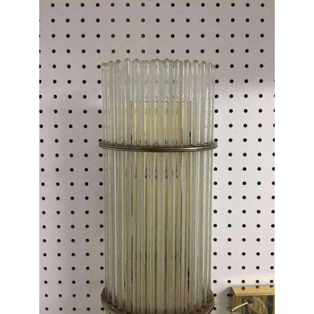 Italian Mid-Century Sconces with Glass Rods - A Pair - Image 7 of 8