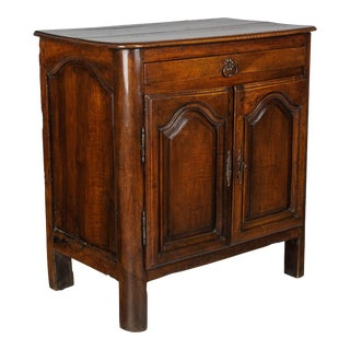 18th Century Country French Walnut Buffet For Sale