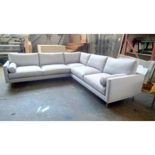 Mid Century Style Sofa: Mid-Century Style Daily 108 Sectional Sofa