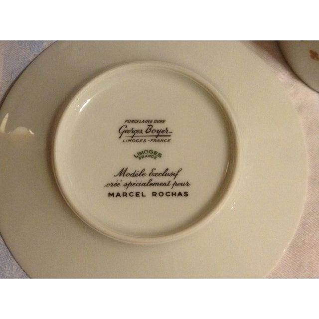 Ceramic Limoges Demitasse Cups & Saucers - Set of 6 For Sale - Image 7 of 7
