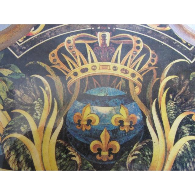 Vintage Enamel Koi Fleur De Lis Box - Image 7 of 10