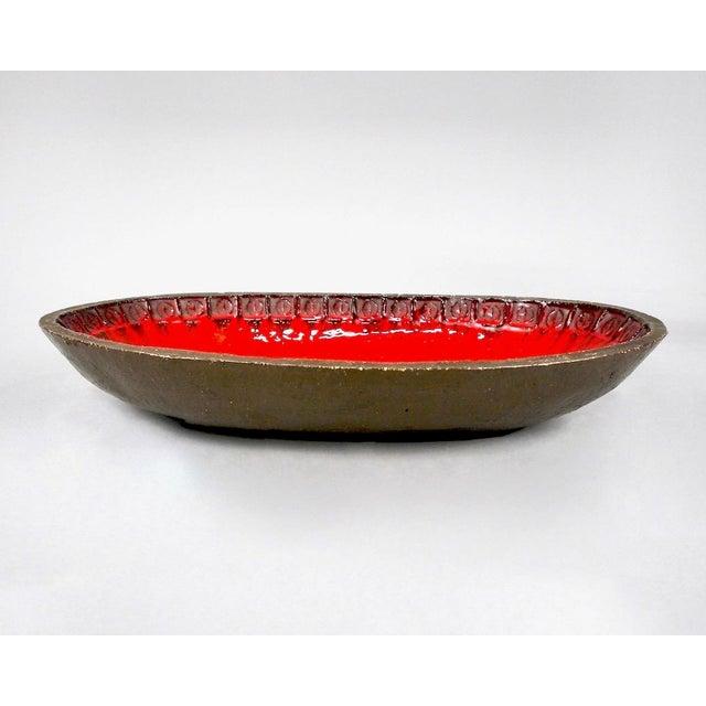 Jan Ryheul Mid Century Belgian Ceramic Platter - Image 3 of 8