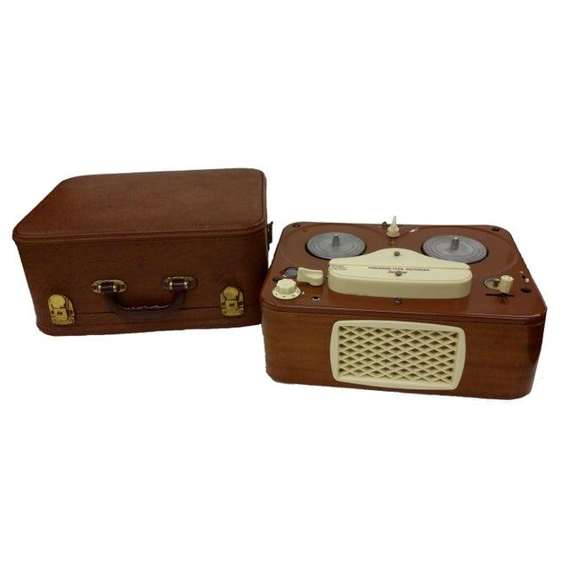 Vintage Collectible Tandberg Radiofabrikk Reel to Reel Tape Recorder For Sale