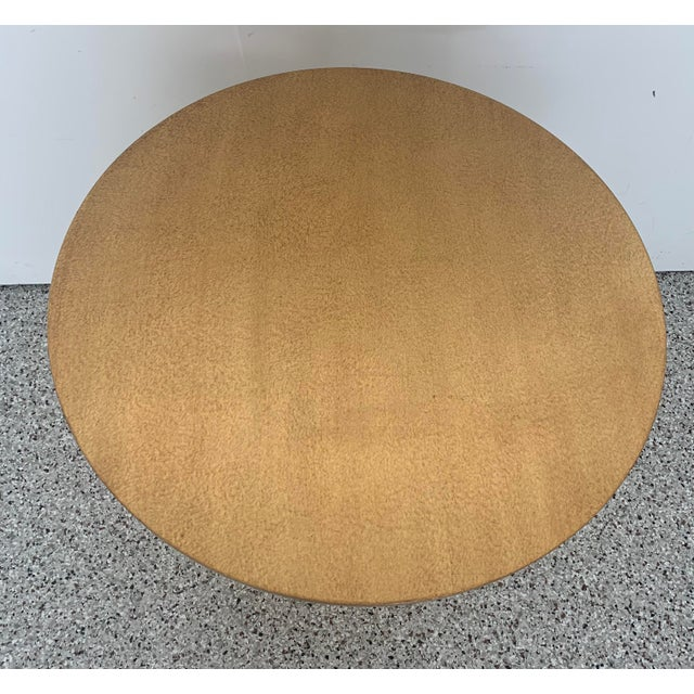 Contemporary Holly Hunt Gold Peso Side Tables - Pair For Sale - Image 3 of 10