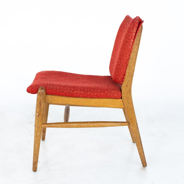 John Keal for Brown Saltman Mid Century Mahogany Dining Chairs - Set of 4 For Sale - Image 12 of 13