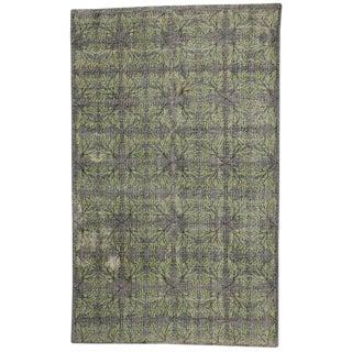 Vintage Mid-Century Tukrish Zeki Muren Rug - 6′ × 9′7″ For Sale